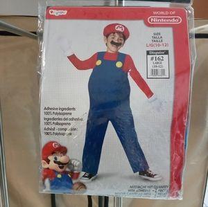 Kids large Super mario costume